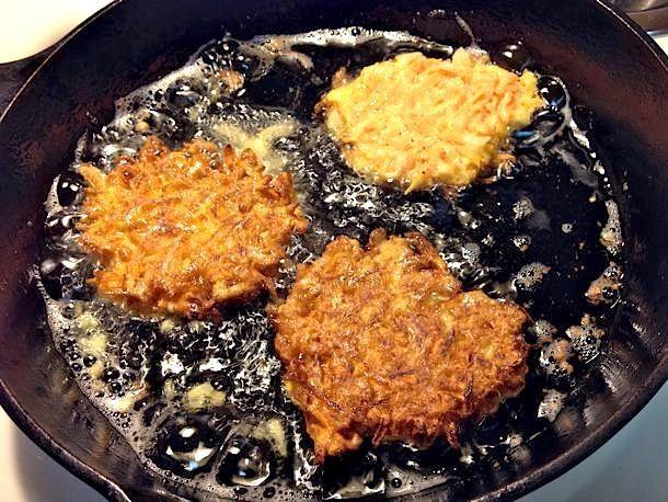 Gluten-Free Sweet Potato Latkes Recipe