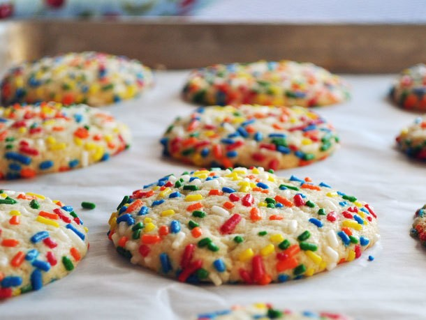 Vanilla Sprinkle Cookies Recipe