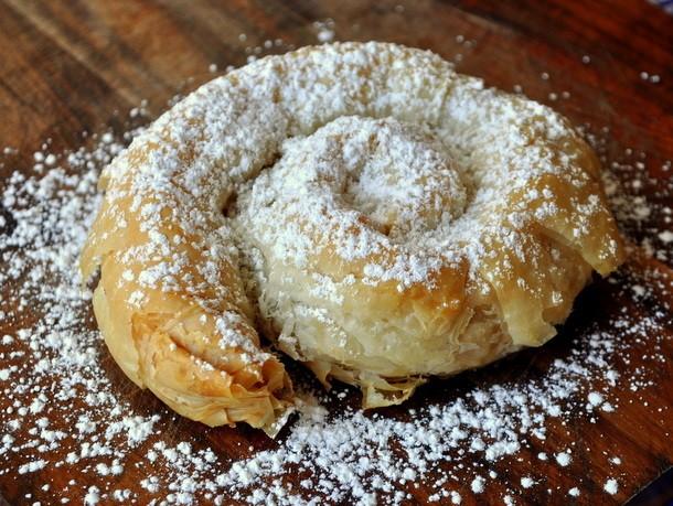 Moroccan Almond Phyllo Pastries (A Take On M'hanncha) Recipe