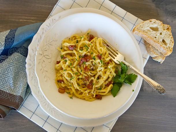 Italian Easy: Pasta alla Carbonara