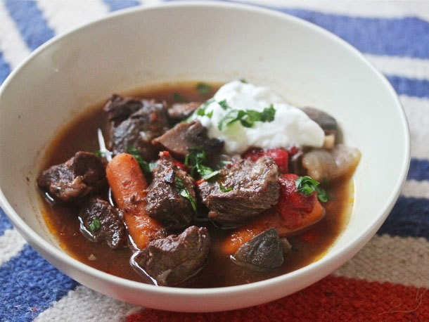 Spanish Beef Stew With Pimentón and Piquillo Peppers Recipe