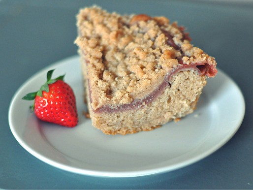 Strawberry Rhubarb Kuchen Recipe
