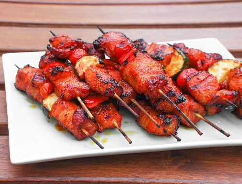Forget the Sriracha: Grab Gochujang for These Pork Belly Kebabs