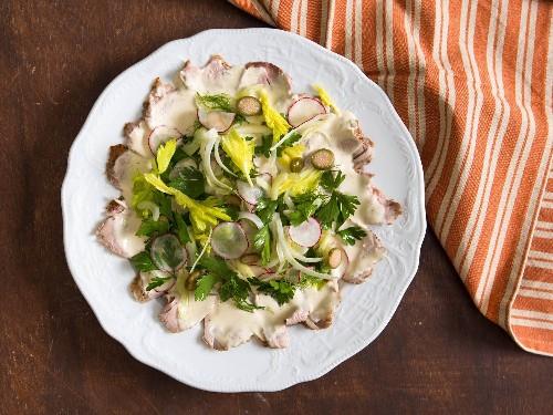 Pork Tenderloin Vitello Tonnato (Veal With Tuna Sauce) Recipe