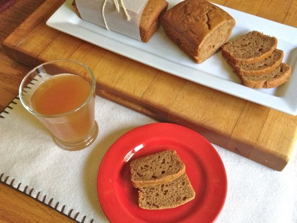 Gluten-Free Apple Cider Bread Recipe