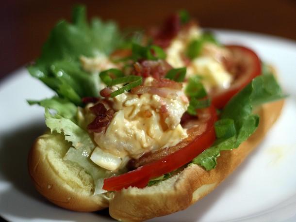 Dinner Tonight: Shrimp and Deviled-Egg Salad Rolls Recipe