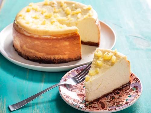 Lemon-Ricotta Cheesecake Recipe