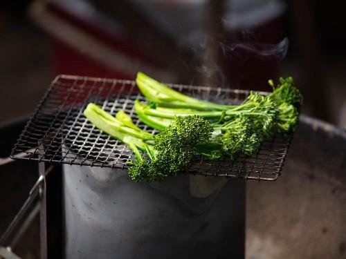 For Better Grilled Vegetables, Use Your Chimney Starter