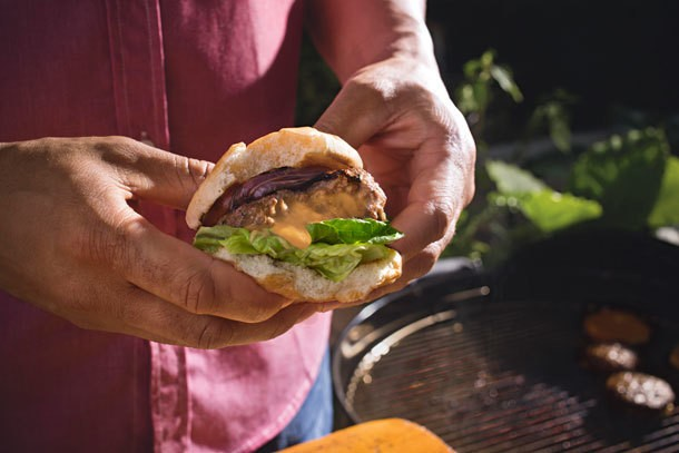 Kraft's Inside Out Cheeseburger