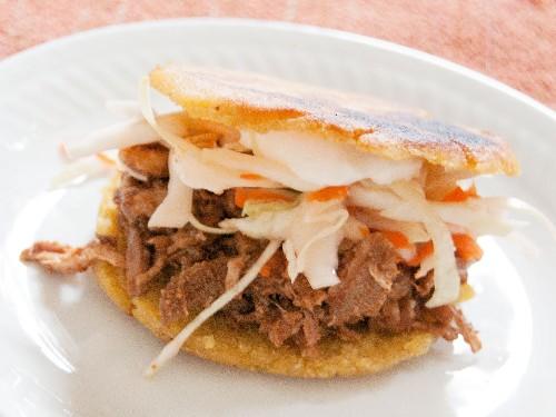 Mexican Gorditas (Fried Stuffed Corn Cakes) Recipe
