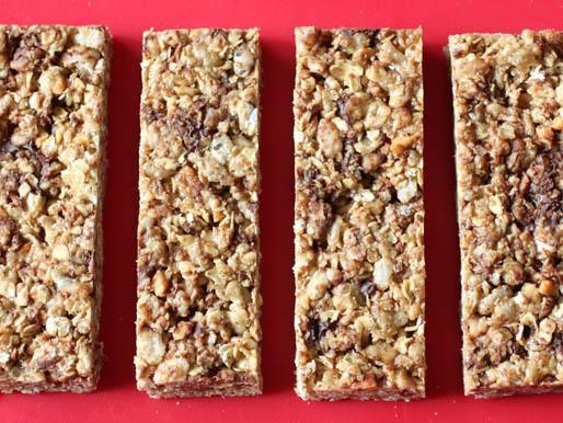Chewy Gluten-Free Granola Bars Recipe