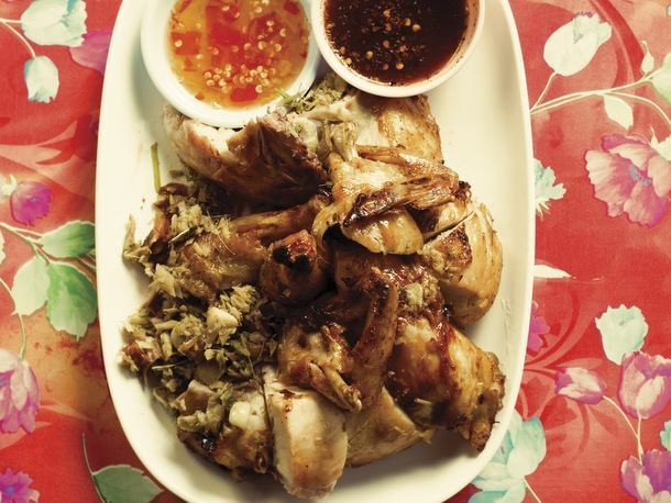 Andy Ricker's Kai Yaang (Whole Roasted Young Chicken), From 'Pok Pok'