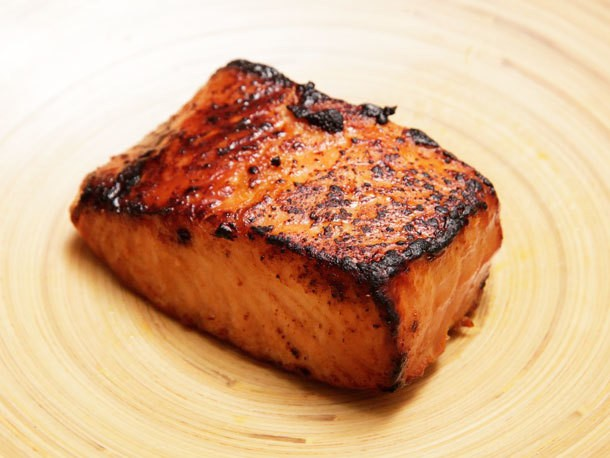 5-Minute Miso-Glazed Toaster Oven Salmon Recipe