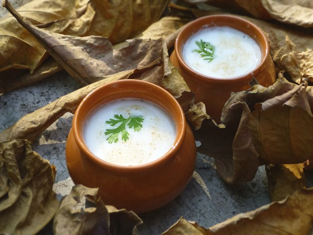 Spiced Indian Yogurt (Chaas) Recipe