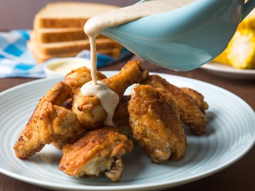 Maryland Fried Chicken With White Gravy Recipe