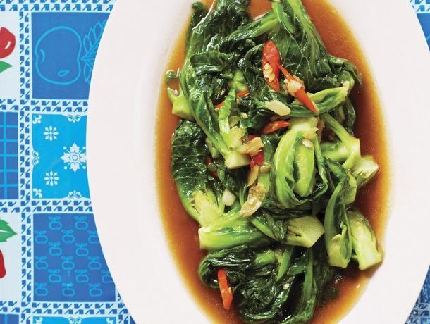Andy Ricker's Phat Khanaeng (Stir-Fried Brussels Sprouts) From 'Pok Pok'