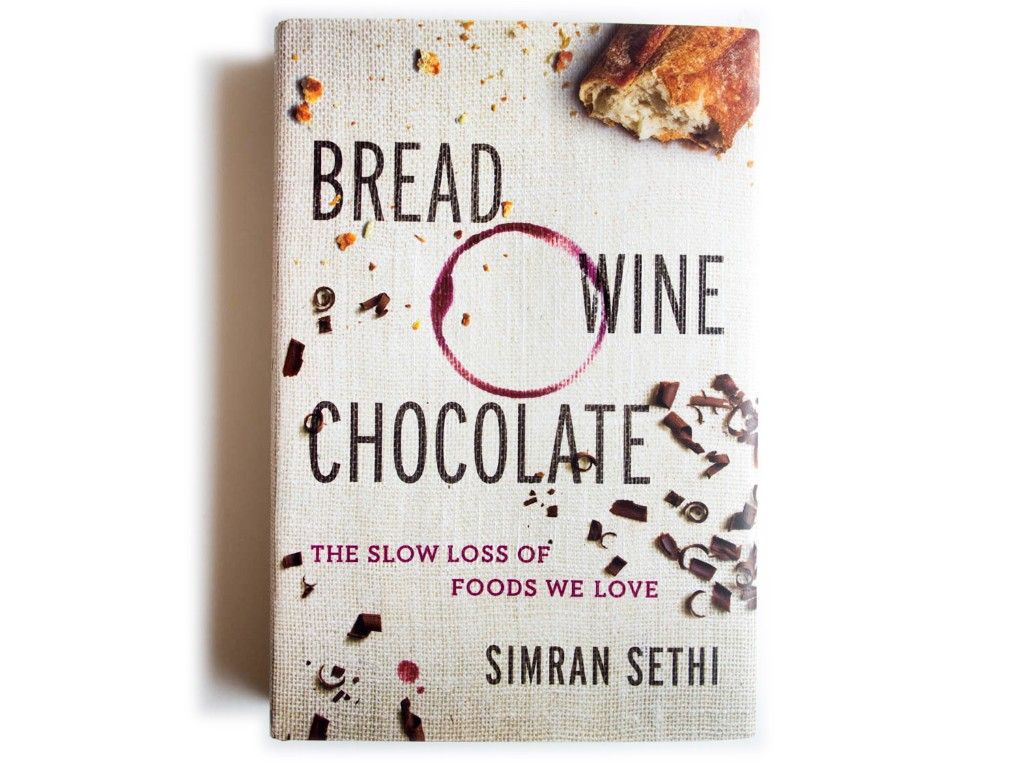 Bread Wine And Chocolate - Magazine cover