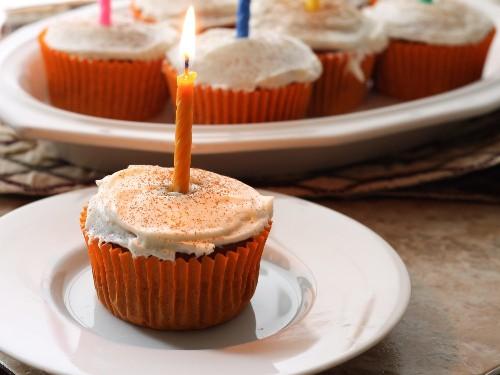 Gluten-Free Pumpkin Spice Cupcakes With Cream Cheese Icing Recipe