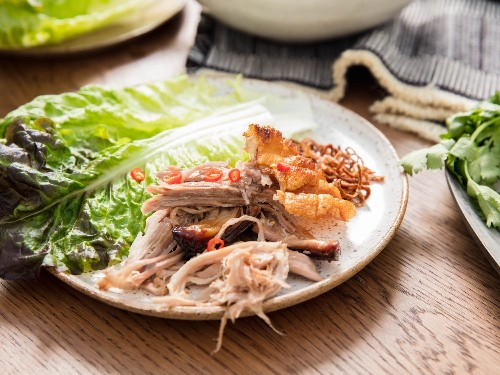 Feed a Crowd With This Thai-Inspired Roast Pork Shoulder Feast