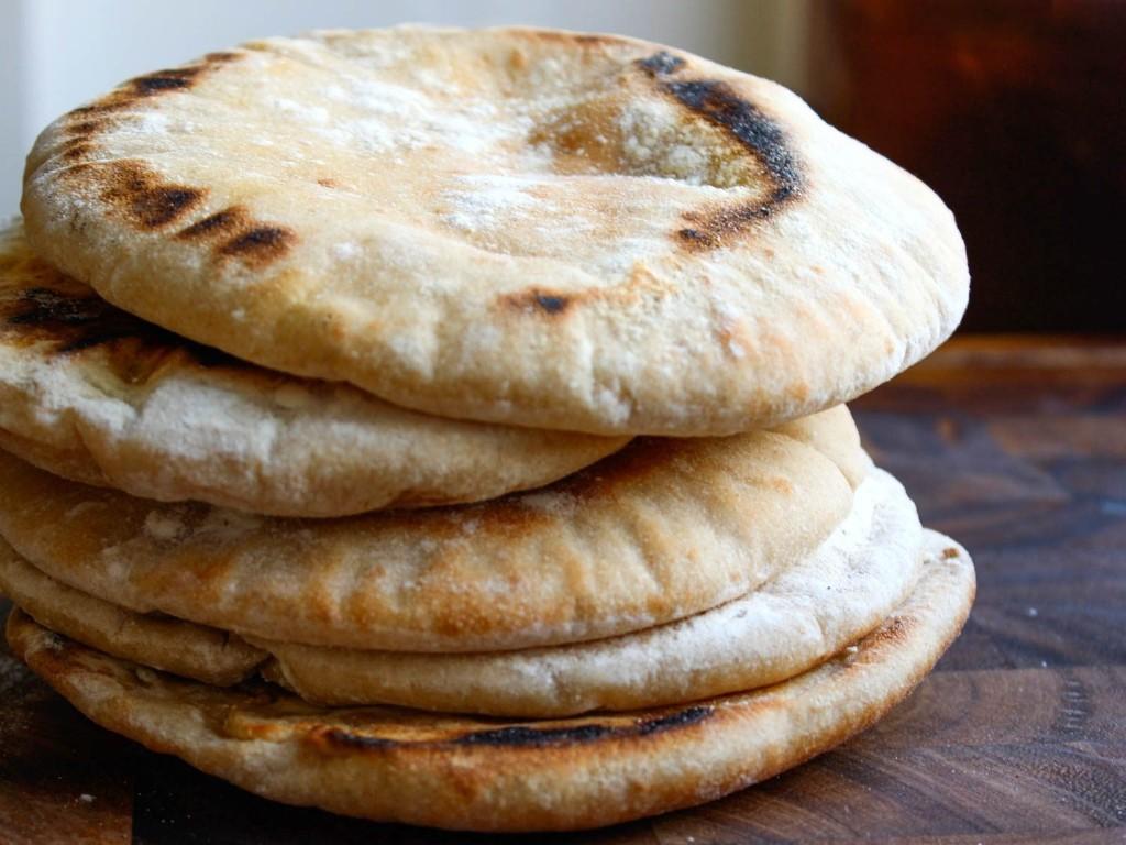 Homemade Pita Bread Recipe