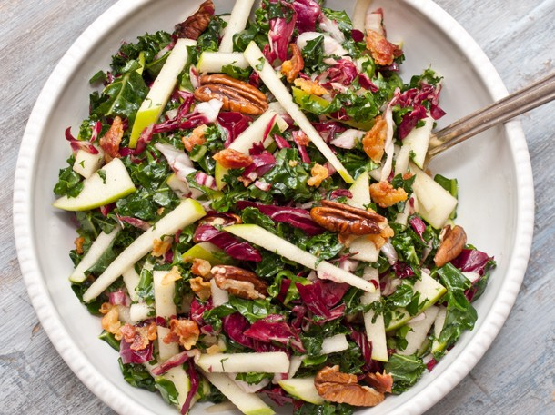 Kale, Apple, and Pancetta Salad Recipe