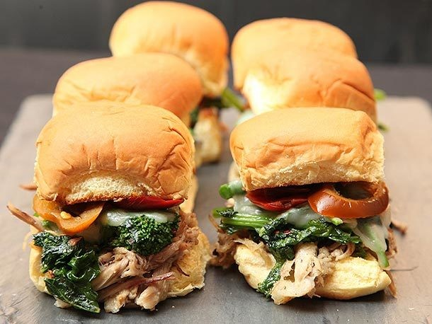 How to Make Game Day Roast Pork and Broccoli Rabe Sandwiches