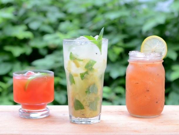 3 Summer Cocktails Straight Off the Grill