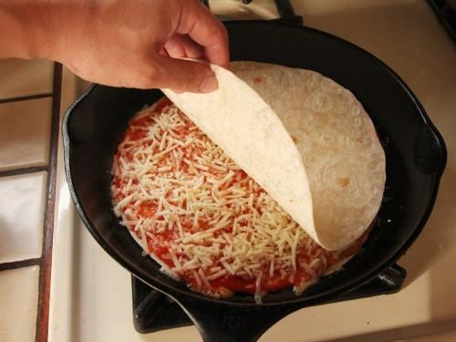 Pizzadilla (Quesadilla Pizza) Recipe