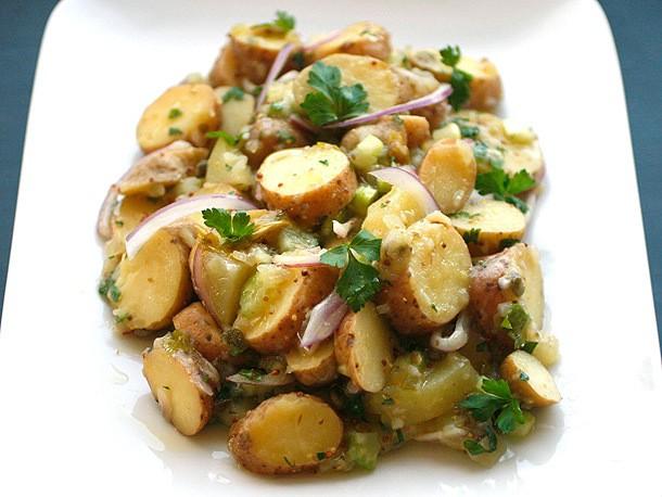 Creamy Vegan Fingerling Potato Salad Recipe