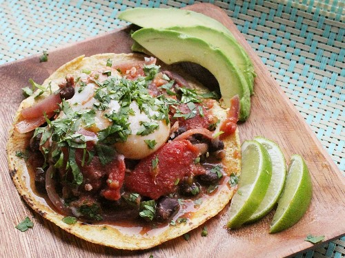 One Skillet Huevos Rancheros With Steamed Eggs Recipe