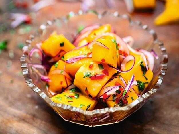 Ceviche de Mango (Mango Ceviche) From Ceviche: Peruvian Kitchen