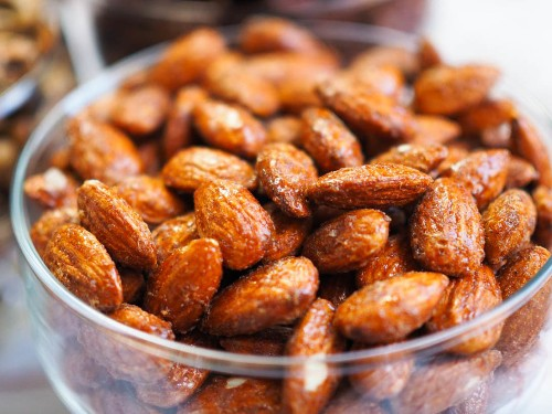Smoky Candied Almonds Recipe
