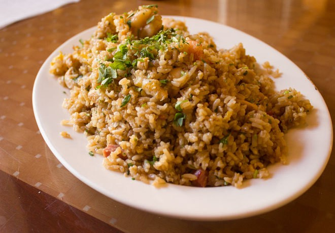 Go for the Ecuadorian Fried Rice at Lucho Barrios in the Bronx