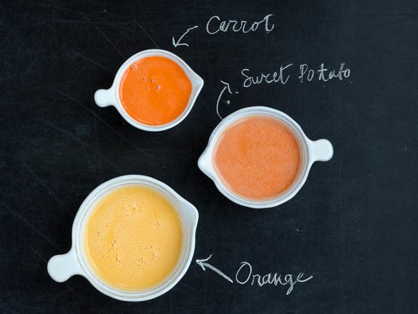 From the Juicer: Orange Sweet Potato Juice