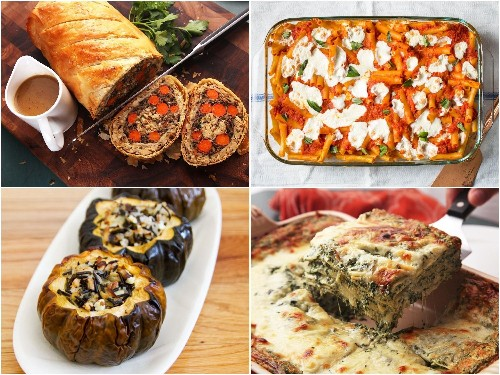 19 Vegetarian Mains for a Festive Holiday Table
