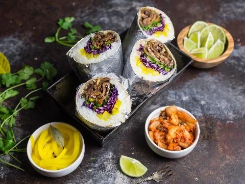 Korean Beef Bulgogi Burritos Recipe