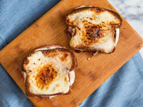 Cheesy, Gooey Croques Monsieurs Recipe