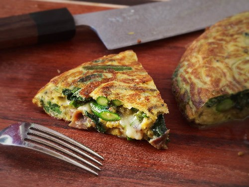 Dinner in 20: Flip Your Frittata for a Quicker Meal, No Broiler Required