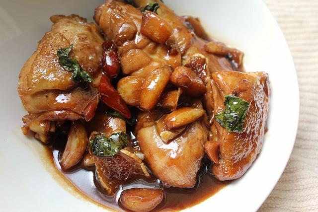 Taiwan Eats: Three Cup Chicken (San Bei Ji)