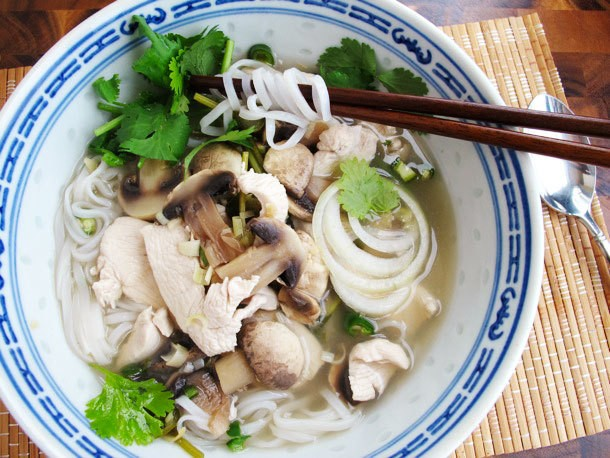 Quick Asian Chili-Lime Chicken Soup Recipe