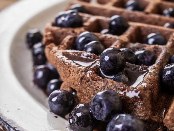 Whole-Grain Waffles from 'The Vermont Farm Table Cookbook'