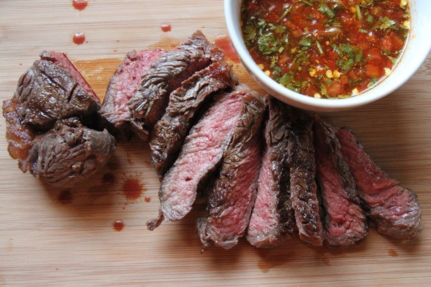 Crying Tiger (Thai-Style Grilled Steak With Dry Chili Dipping Sauce) Recipe
