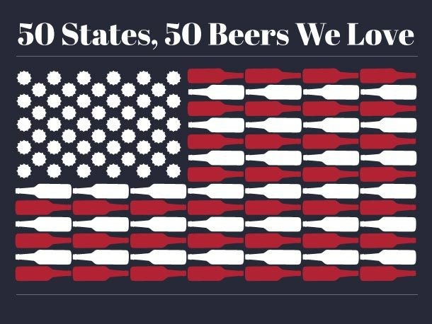 Check Out Our Map of 50 States, 50 Beers We Love