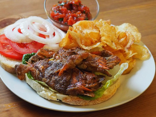 Two Delicious and Easy Soft-Shell Crab Sandwiches to Celebrate the Season