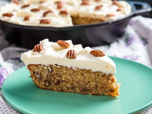 Hummingbird Skillet Cake Recipe