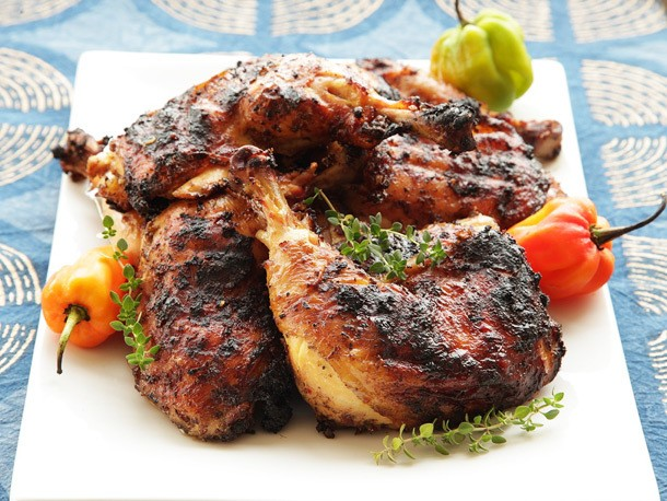 Spicy Grilled Jerk Chicken Recipe