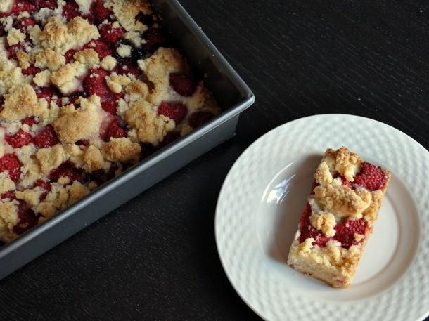 Raspberry Crumb Bars Recipe