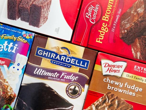 Taste Test: Boxed Fudge Brownie Mix