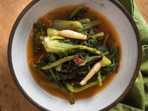 Young-Radish Kimchi: Spicy, Versatile, Ready in Just a Day