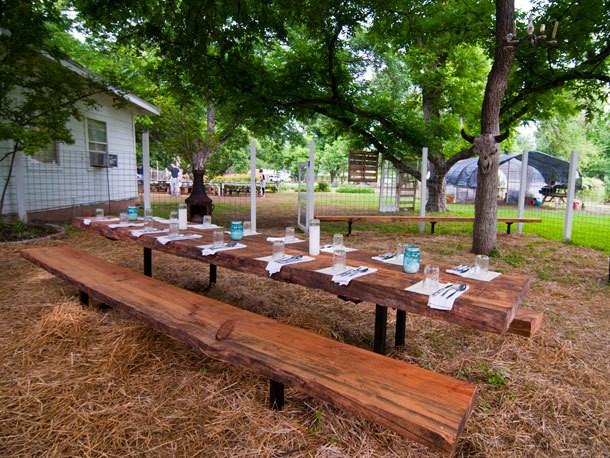 First Look: Farmside Dining at Eden East in Austin, Texas